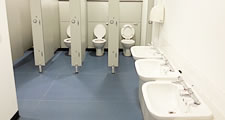 Washroom services London